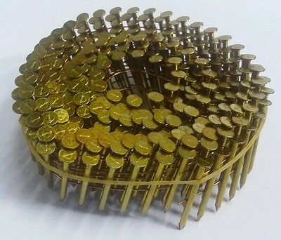 """15 DEGREE WIRE COLLATED NAILS 1-3/8"""" x .099 SMOOTH SHANK BOX COUNT 4500pc FSE"""