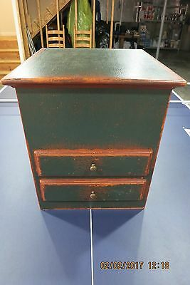 DAVID T. SMITH ~  Counter Top Appliance HIDEAWAY ~ DISTRESSED MUSEUM FINISH
