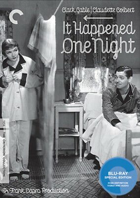 It Happened One Night (Criterion Collection) [New Blu-ray] 4K Mastering, Black
