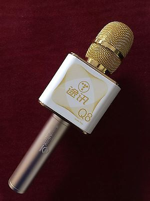 NEW TUXUN Q8 Microphone Wireless Karaoke for iPhone and Android