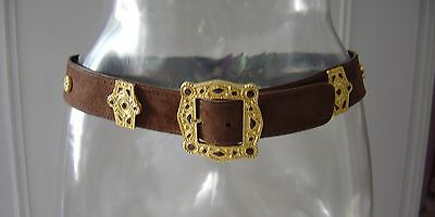 CEINTURE EN DAIM ESCADA  Made in germany TRES BON ETAT