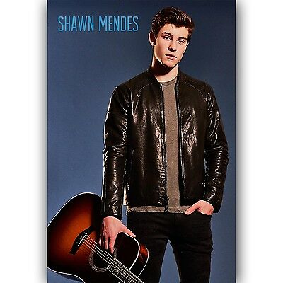 New Shawn Mendes Custom Silk Poster Wall Decor