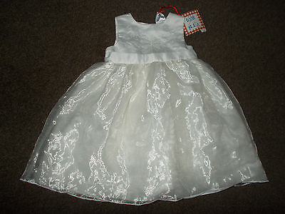 beautiful baby girls special occasion/christening dress 12-18 months BNWT