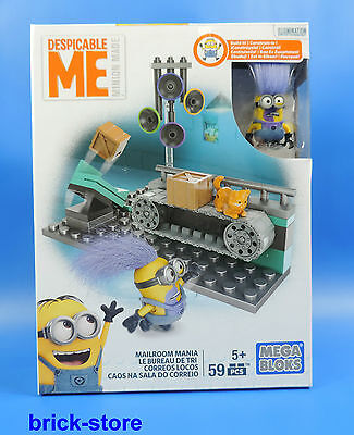 Mattel MEGA BLOCKS MINIONS / DKY85 / Panic im Post room