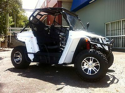 Side X Side - Synergy Spider Sports 200 Utv Off Road Buggy Go Cart Atv
