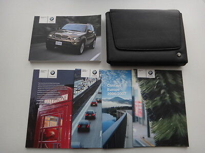 BMW X5 E53 Owners Manual/Handbook Pack & Wallet 2004-2006