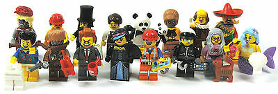 LEGO Movie Series / Selection of Figurines 1-16 or Complete Set / Dispaly 71004