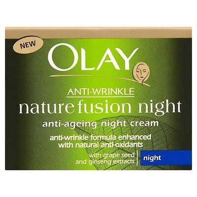 Olay Anti-Wrinkle Nature Fusion Moisturiser Night Cream