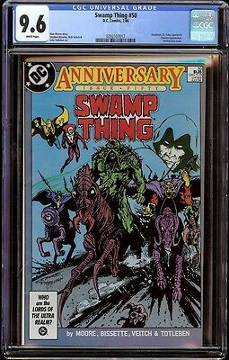 Swamp Thing # 50 CGC 9.6 White (DC, 1986) 1st Justice League Dark