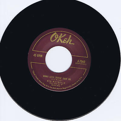 Big Maybelle - Whole Lotta Shakin' Goin' On / One Monkey Don't Stop The Show