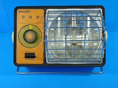 Vintage 1976 Philips Sun Tanning Heat Lamp Model HP3000C Made in USA