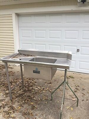 "Jackson Door Type Table Feed/dirty Table Left To Right 50"" Long For  20"" Opening"