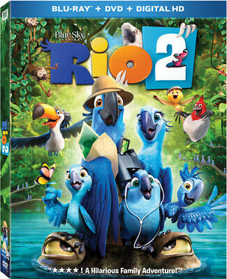 Rio 2 - Rio 2 [New Blu-ray] With DVD, Widescreen, 2 Pack, Ac-3/Dolby Digital, Di
