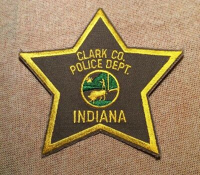 IN Clark County Indiana Police Patch