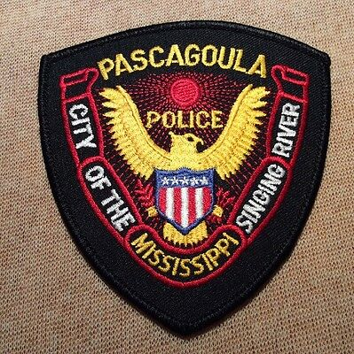 MS Pascagoula Mississippi Police Patch