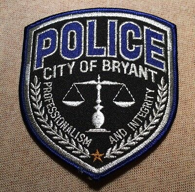AR City of Bryant Arkansas Police Patch