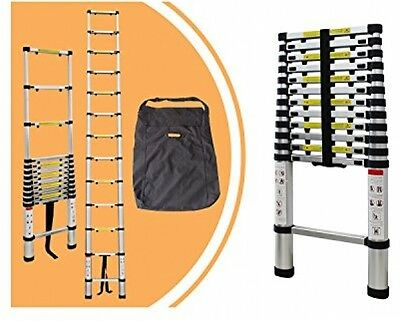 Aluminum Telescopic Ladder: 3.8m