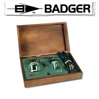 Badger 175 Airbrush Crescendo Set Holzkasten