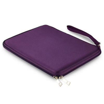 Purple Hard Zipper Case Cover For Apple iPad 2/3/4 iPad Pro 9.7