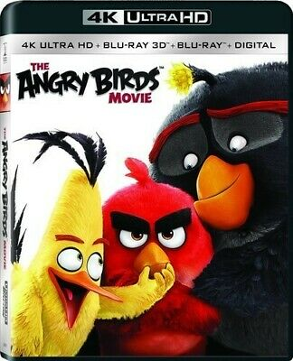 The Angry Birds Movie [4K Ultra HD] [New 4K UHD Blu-ray] With Blu-Ray, With Bl