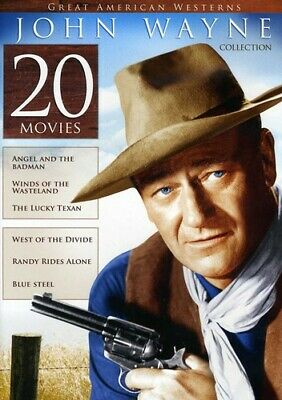 20-Film Great American Westerns: John Wayne Coll [New DVD] Boxed Set, Full Fra
