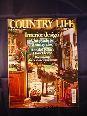 Country Life - October 17, 2012 -Microbreweries - Interior design - Country chic