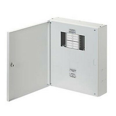 Wylex 125A 4-Way Tp & N Meter Ready Distribution Board