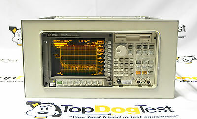 HP Agilent Keysight 35670A FFT Dynamic Signal Analyzer In A Rack Mount,Warranty