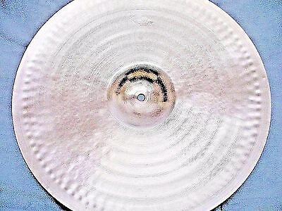 "VINTAGE Old 1950s 18"" PAISTE STANOPLE Thin CRASH Cymbal *Ex Cnd 1092g *WORLDSHIP"