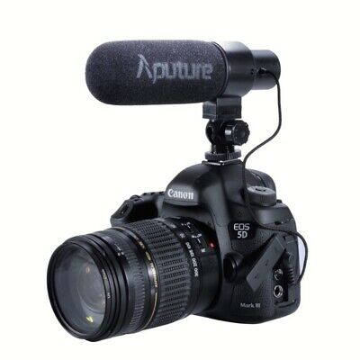 Aputure V-Mic D1 Directional Condenser Shotgun Microphone Mic for DSLR camcorder
