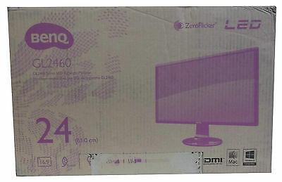 "BenQ GL2460HM 24"" Monitor with HDMI. 2ms New."