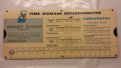 Vintage 1965 HP Time Domain Reflectometer calculator