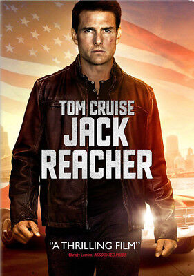 Jack Reacher [New DVD] Ac-3/Dolby Digital, Dolby, Dubbed, Subtitled, Widescree