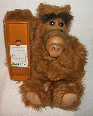 Vintage Alf Phone Great Alf Body But No Phone Parts Only