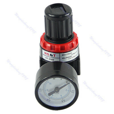 AR2000 Air Control Pressure Gauge Compressor Relief Regulator Regulating Valve