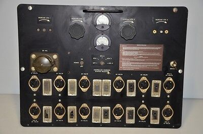 US Army Signal Corps Shortwave Receiver Tube Ham Radio Charger Parts repairs