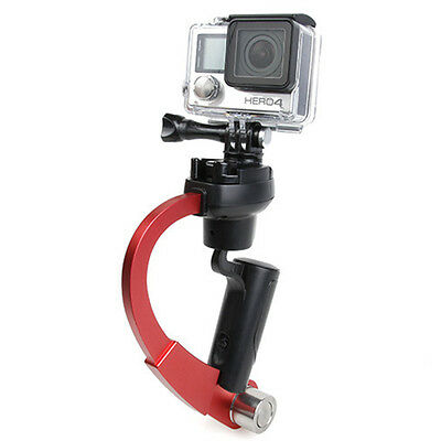 Fit For GoPro Hero HD 2 3 3+ 4 Action Camera Stabilizer Handheld Handle Grip Red