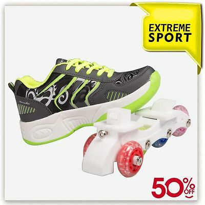 Roller Shoes In Line - Sizes 2.5 Us up to 6 US