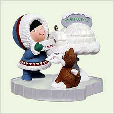 2005 Hallmark FROSTY FRIENDS #26 Ornament SNOW MAIL *Priority Shipping