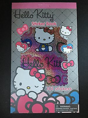 New Sanrio Hello Kitty Sticker Book 101 Assorted Stickers