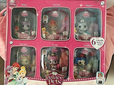 Princess Palace Pets- Furry Tail Friends Gift Set of 6!!! New in Box ~ RARE HTF