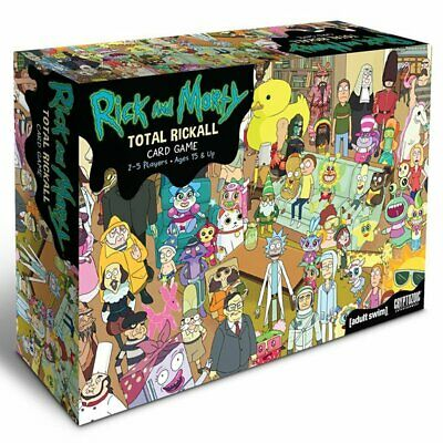 Rick & Morty - Total Rickall Co-operative Card Game