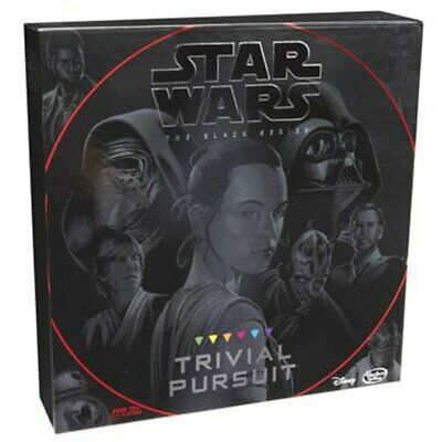 TRIVIAL PURSUIT STAR WARS The Black Series Edition