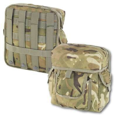 British Army Molle Commanders Admin Pouch MTP Military Utility Webbing Pouch