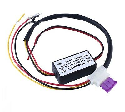 Auto CAR LED DAYTIME RUNNING LIGHT RELAY HARNESS DRL CONTROL DIMMER ON/OFF 12V K