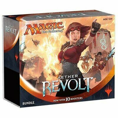 MAGIC THE GATHERING Aether Revolt Bundle Pack incl. 10 Booster Packs