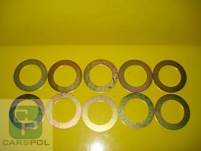35 mm x 1 mm SHIMS,  WASHER, SPACER FOR PINS EXCAVATOR - SET 10 PC