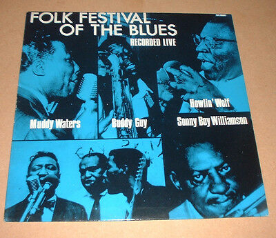 Uk 1984 Chess  Ch 8004 Records Festival Blues Muddy Waters Howlin Wolf Buddy Guy