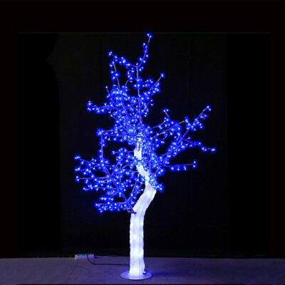 5ft/1.5M blue led Light Crystal Cherry Blossom Tree party wedding holiday deco