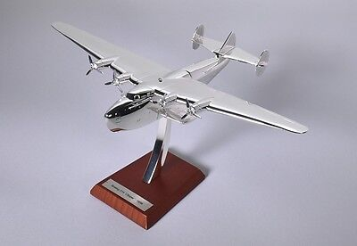 Atlas Editions 1:200 Scale Chrome Plated  Boeing 314 'clipper' - 1938 Nib #13